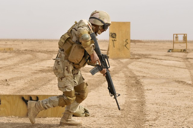 Kirkush Military Training Base; KMTB; Tadreeb al Shamil; 5th Iraqi Army Division; Company A; 1st Battalion 27th Infantry Regiment; Wolfhounds; 2nd Advise and Assist Brigade; 25th Infantry Division; Operating New Dawn; U.S. Division-North