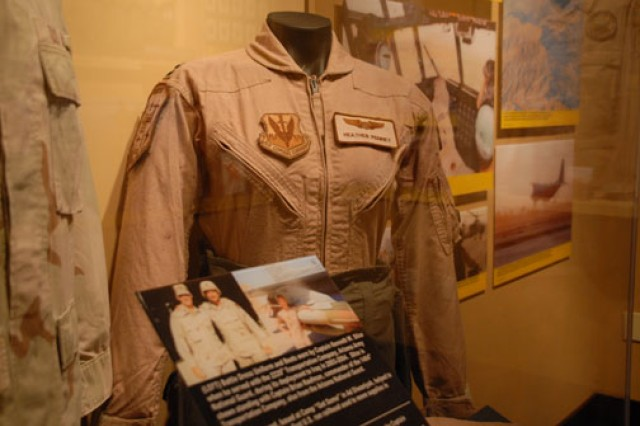 Various Guard uniforms are on display at the National Guard Memorial Museum, National Guard Educational Foundation in Washington, D.C. The musem houses displays corresponding to the early militia era, the Guard's coming of age, World War II, the Cold War and current military and civil missions.
