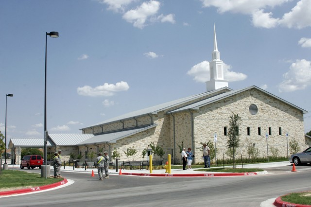 The Spirit of Fort Hood Warrior and Family Chapel Campus was officially opened Aug. 15, 2011, with a dedication ceremony. When phase two of construction is complete, the complex will be the largest spiritual fitness campus in the Army. Phase two is scheduled for completion in the fall of 2012.