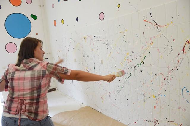 muren schilderen - creatief