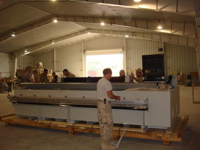 Army prepares forward-deployed prototype facility