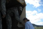 New York Army National Guard Soldiers from Harlem Aid Upstate Residents