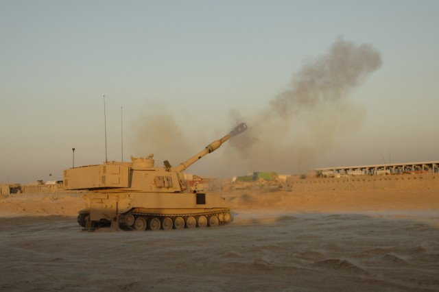 "The M109 Paladin Integrated Management, or ""M109 PIM,"" is slated to begin low-rate initial production by 2013. The 40-ton, next-generation 155mm Howitzer artillery cannon is able to fire precision rounds, accommodate additional armor protections and power more on-board electrical systems."