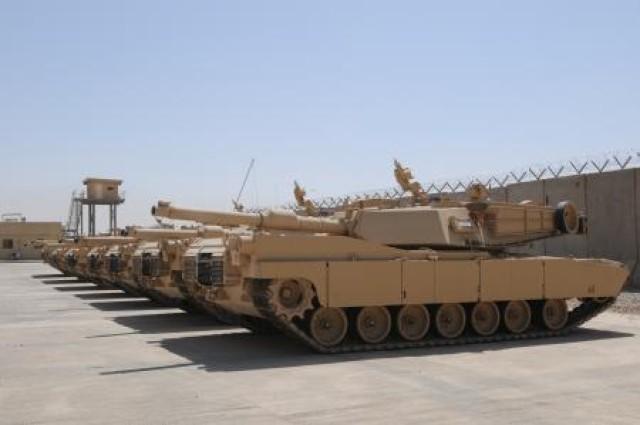 Iraqi Army receives last shipment of Abrams tanks