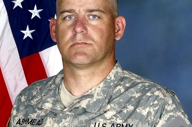 Command Sgt. Maj. Carl A. Ashmead