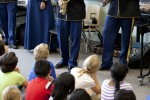 Army Field Band instrument demonstrations