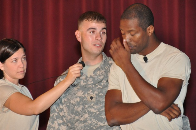 Suicide prevention interactive role-play wakes up Soldiers