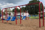 SecDef, volunteers build Fort Meade playground to remember 9/11