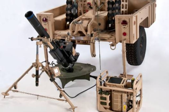 Just one of the Army's Greatest Inventions: Mortar Fire Control System -- Dismounted, reduces time to fire first round from eight minutes during the day and 12 minutes at night to less than two minutes for both day and night.