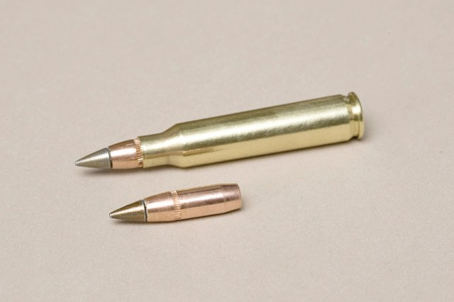 The new, improved M855A1 5.56mm Enhanced Performance Round excels in several areas and is also environmentally friendly because of its use of a copper slug.
