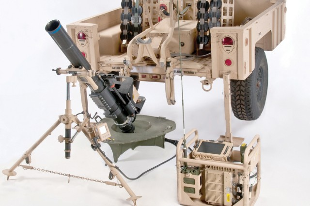 The Mortar Fire Control System -- Dismounted -- features command and control enhancements along with increased accuracy.
