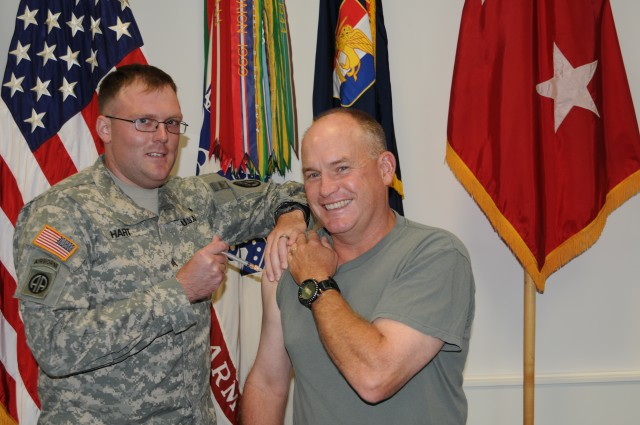 U.S. Army Africa Commanding General gets 'shot in the arm'