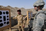 U.S. paratroopers, Iraqi soldiers christen new rifle range