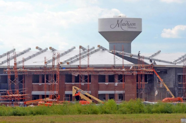 To keep the quality of education high in the city of Madison, construction is under way for a second high school. James Clemons High School off County Line Road near Mill Road, will open its doors to students in August.