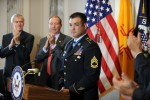 Sgt. 1st Class Leroy Petrys reception at Capitol Hill