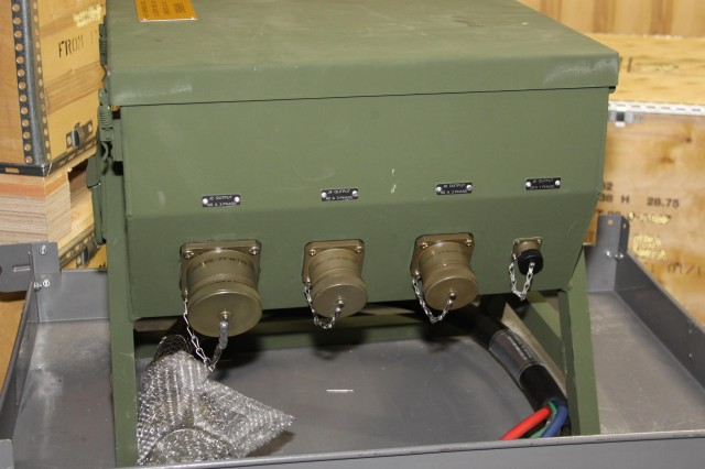 M100 Power Distribution Illumination System Electrical (PDISE) at the  manufacturing plant in Reading, Pa in January 2011. (U.S. Army photo by Amy Walker)