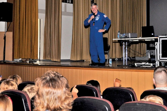 Astronaut and retired Lt. Col. Gregory H. Johnson describes what it was like to fly Endeavour's final mission and to work on the International Space Station.