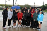 3d ESC commander takes on Heart Walk with U of L women's basketball team