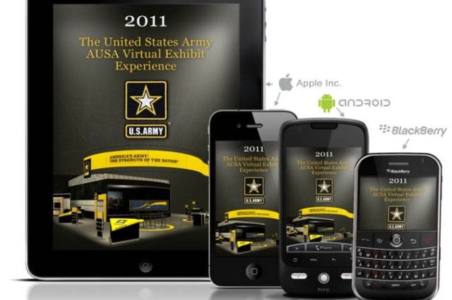 The Army Exhibit Mobile App will spotlight Army exhibits and speeches at the the AUSA annual meeting and symposium.