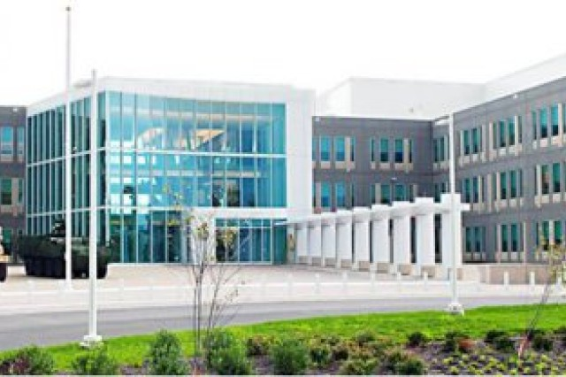 The new headquarters for the U.S. Army Test and Evaluation Command at Aberdeen Proving Ground was one of 18 new facilities built there under BRAC.