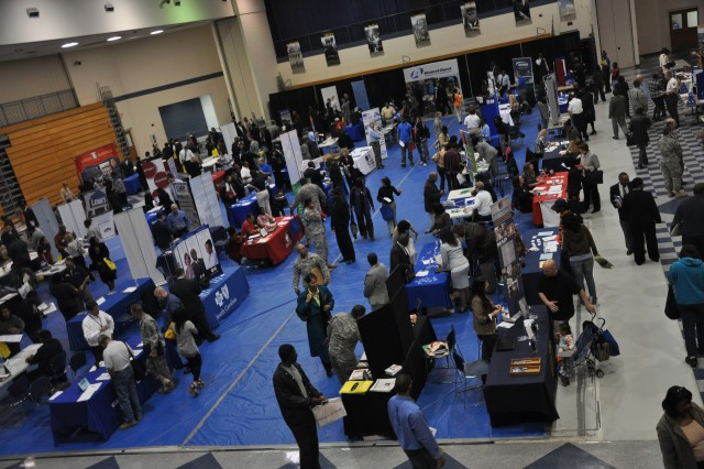 Hundreds of job-seekers came out for last spring's Employment Readiness Program job fair. Approximately 65 employers are expected to be on hand at the next job fair, which is scheduled for Tuesday.