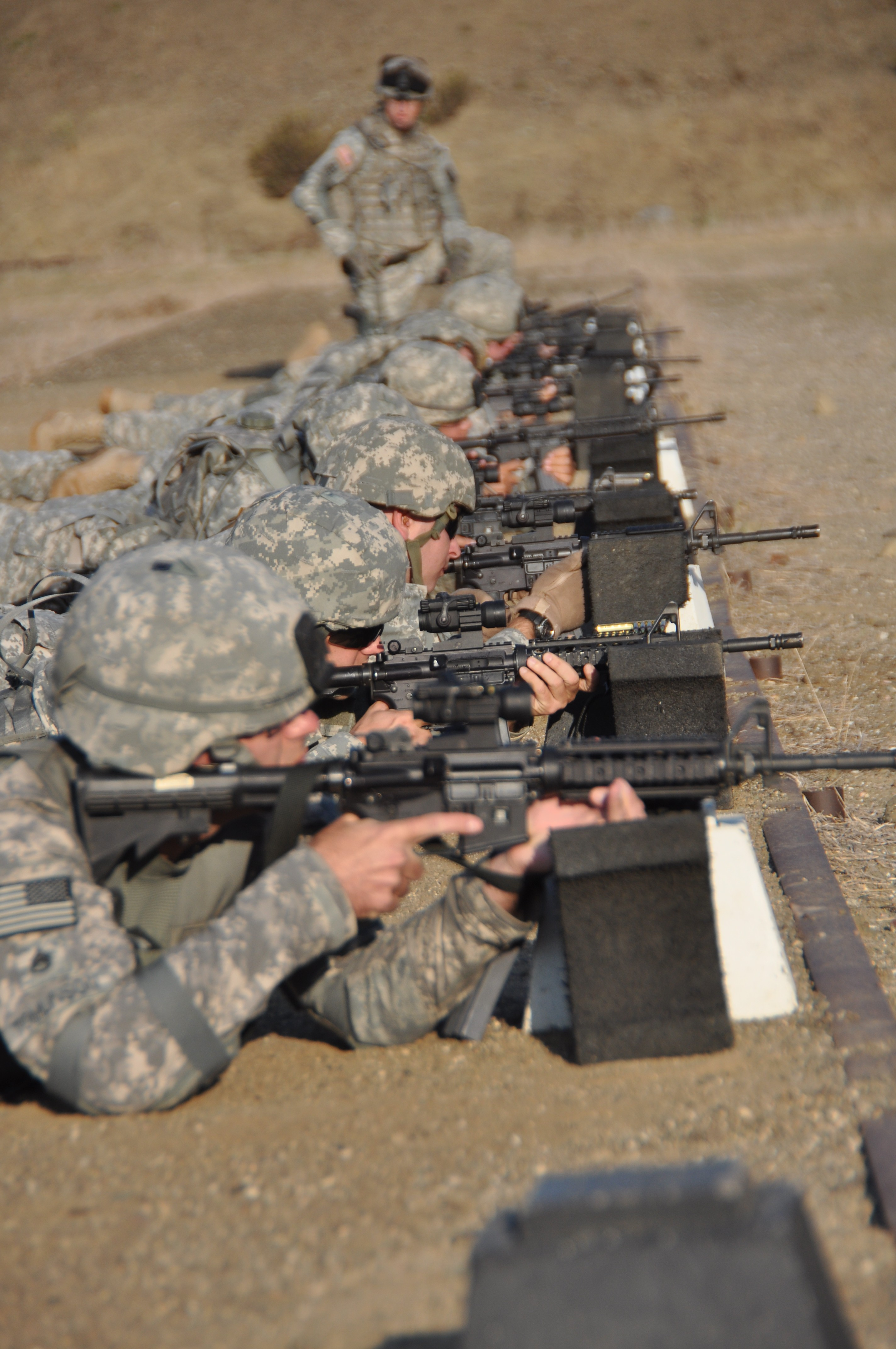 California National Guard Soldiers Compete In The 2011
