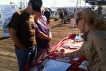 Bobber delivers USACE water safety message at Morro Bay Harbor Festival