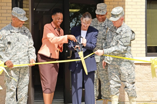 IOP Day Treatment Center ribbon-cutting
