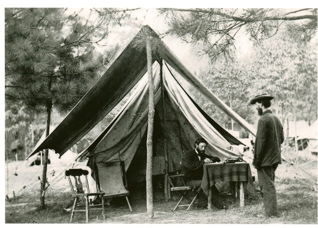 Dr. Albert J. Myer during the Civil War