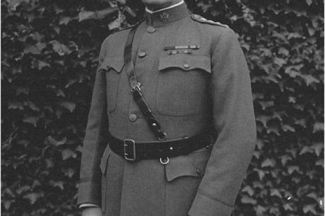 "General John J. (""Black Jack"") Pershing, Commander, American Expedionary Force in Europe during World War I."