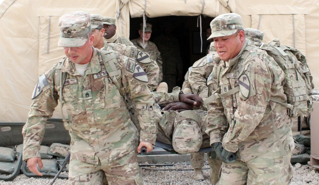 Deployed Air Cav troopers, spouses  conduct joint spur ride
