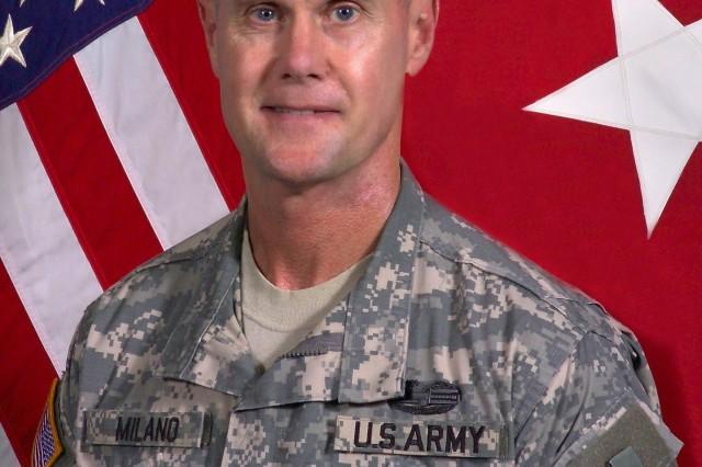 Maj. Gen. James M. Milano is Fort Jackson's commanding general.