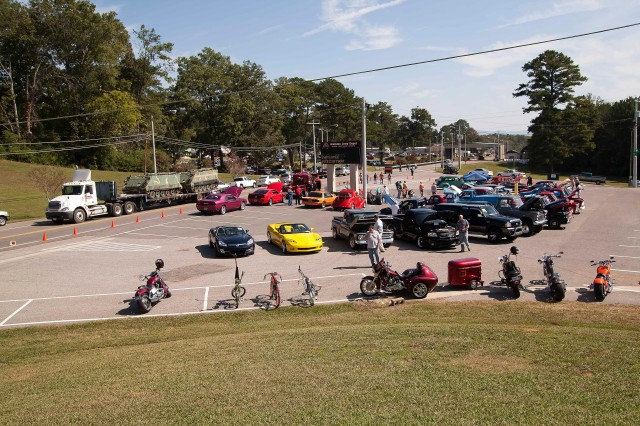 Vehicle shows at Anniston Army Depot's Employee Appreciation Day Oct. 6 included a shiny cars, motorcycles, trucks, extreme vehicles, boats and golf carts.