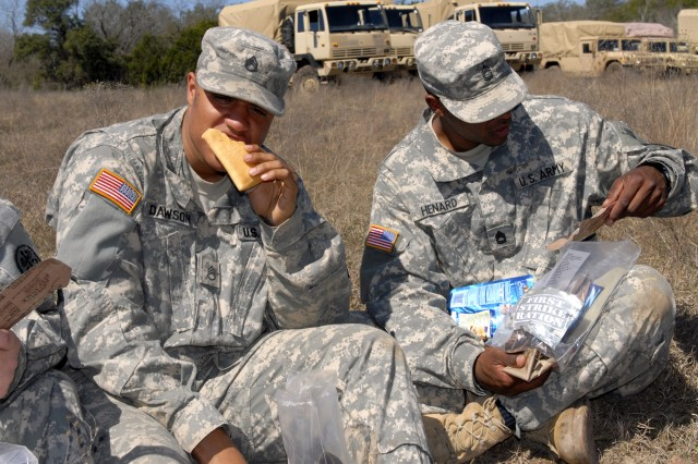 "As part of the ""First Strike Ration,"" the shelf-stable pocket sandwich gives Soldiers a portable ration that they can eat on the go. The sandwiches always score well in field-testing."