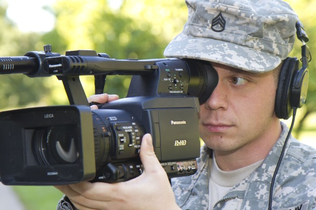 Staff Sgt. Jared Morgan, media producer for the U.S. Army Field Band, won an Emmy Award in May for his contributions as a highlight producer for the Major League Baseball Network in 2010. In his current position, Morgan creates visual content for the Internet, music videos and short television promos.
