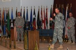 SMA conducts town hall meeting with Third Army Servicemembers