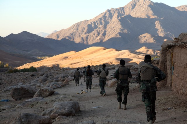 ANSF and coalition SOF conduct operations in Deh Chopan