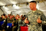 SMA visits Camp Stone in western Afghanistan