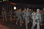 7th CSC Soldiers road march to maintain proficiency