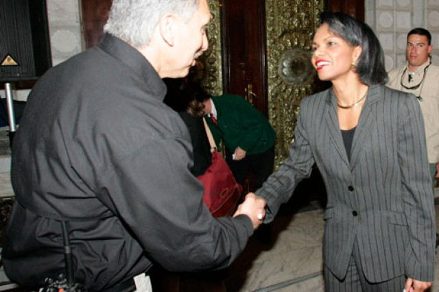 Retired Chief Warrant Officer 4 Dan Laguna met with and advised then-Secretary of State Condoleeza Rice and then-President George W. Bush in Iraq, as well as many ministers, ambassadors and senators.
