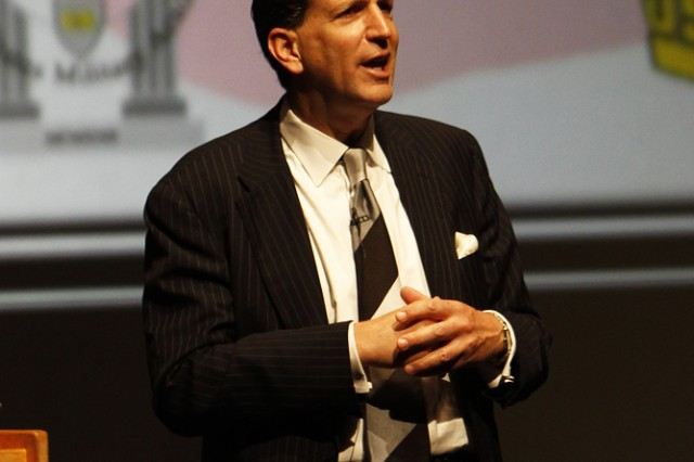 """The first plenary speaker at the 2011 National Conference on Ethics in America was Richard S. Levick, president and CEO of Levick Strategic Communications, who presented the topic """"Doing the right thing at the most difficult of times."""""""