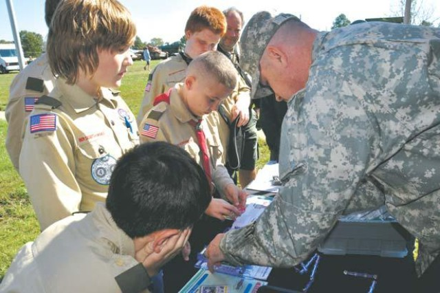 STEM Merit Badge Day draws more than 600 scouts