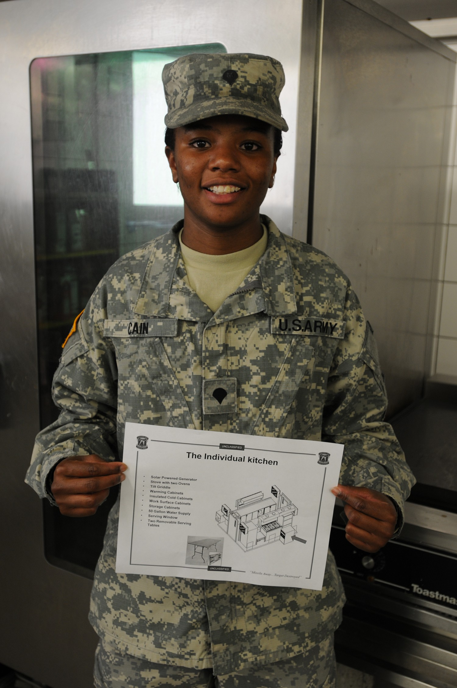 U S  Army Europe food service specialist earns Army award