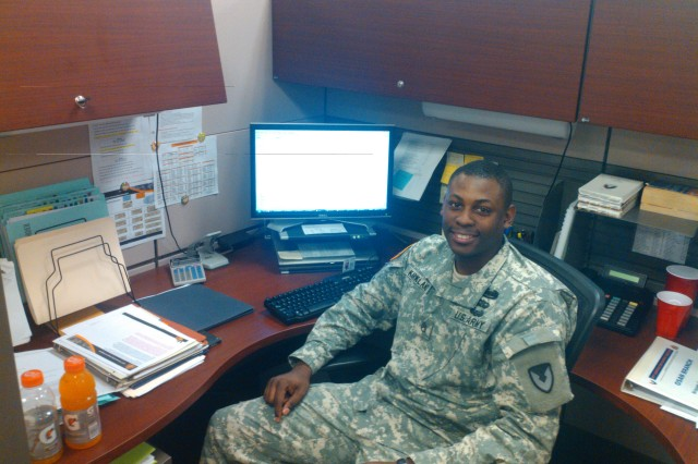 Staff Sgt. Delwayne Kirkland, 411th Contracting Support Brigade, Army Contracting Command-Korea.