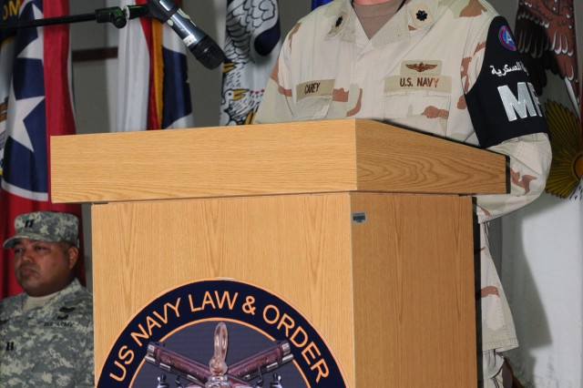 Navy Law, Order unit transfers authority to Army after seven years