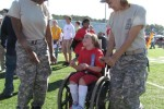 JROTC Cadets Dance With Special Needs Student