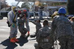 New York National Guard Conducts Dirty Bomb Drill in Kingston New York