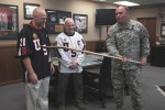 Hockey stick used at Wounded Warrior Charity Event
