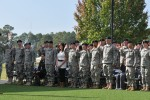 Marne Division hosts mass reenlistment