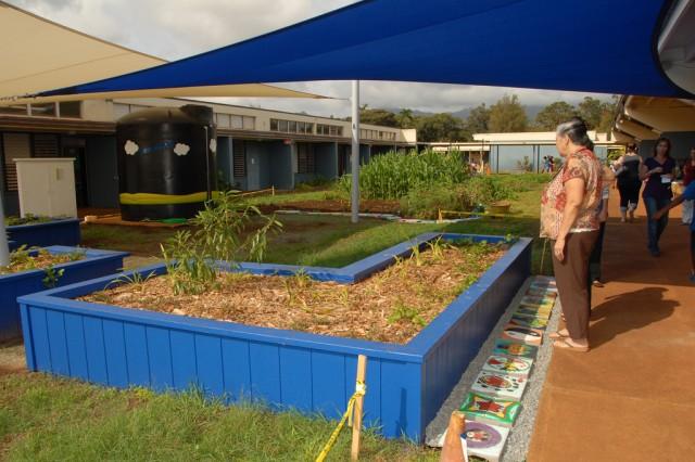 Native Hawaiian plants featured in new outdoor classroom garden